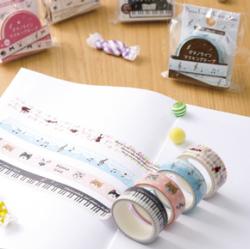 ピアノライン マスキングテープ ※お取り寄せ商品 引き出物 記念品 音楽雑貨 音符 ピアノモチーフ ト音記号 ピアノ雑貨