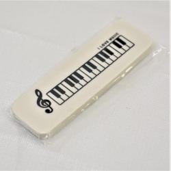 ミュージックデザイン 消しゴム ※お取り寄せ商品 引き出物 記念品 音楽雑貨 音符 ピアノモチーフ ト音記号 ピアノ雑貨
