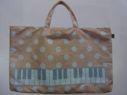 LOVE music おけいこバッグ ピンク ♪この商品はお取り寄せ商品です♪【発表会】ブラスバンド 吹奏楽部