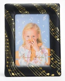 フォトフレーム 楽譜 ☆※お取り寄せ商品 【音楽雑貨 音符・ピアノモチーフ】ト音記号 ピアノ雑貨