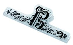 ロングクリップ ※お取り寄せ商品 引き出物 記念品 音楽雑貨 音符 ピアノモチーフ ト音記号 ピアノ雑貨