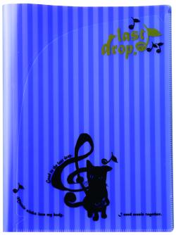 LD クリアポケット ※お取り寄せ商品 引き出物 記念品  【音楽雑貨 音符・ピアノモチーフ】ト音記号 ピアノ雑貨c