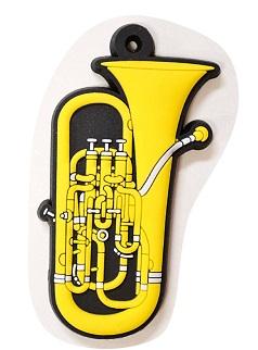 ユーフォニウム ラバーズ キーホルダー 【音楽雑貨専門店】♪この商品はお取り寄せ商品です♪【発表会】ブラスバンド 吹奏楽部
