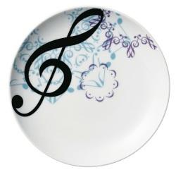 プレート カレイドスコープ ※お取り寄せ商品 【音楽雑貨 音符・ピアノモチーフ】ト音記号 ピアノ雑貨