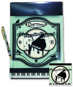 シャノワールセット※お取り寄せ商品 引き出物 記念品 音楽雑貨 音符 ピアノモチーフ ト音記号 ピアノ雑貨