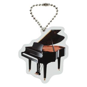 Piano line クリアキーホルダー ※お取り寄せ商品 引き出物 記念品 音楽雑貨 音符 ピアノモチーフ ト音記号 ピアノ雑貨