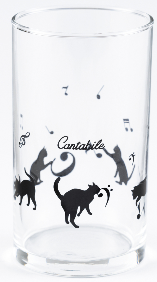 グラス ※お取り寄せ商品 引き出物 記念品 音楽雑貨 音符 ピアノモチーフ ト音記号 ピアノ雑貨