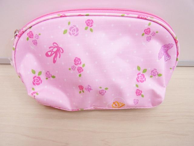 ピンクの可愛いバレエポーチ♪