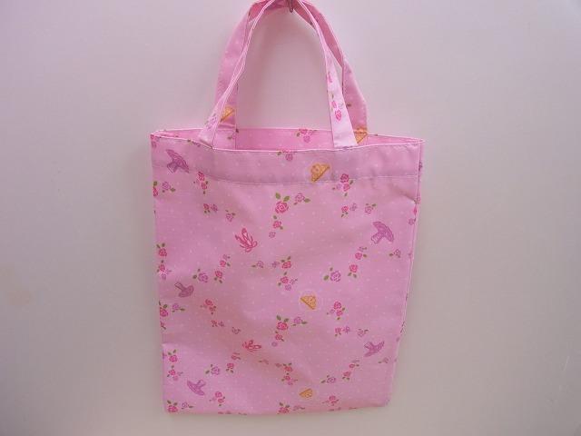 ピンクの可愛いバレエトートバッグ♪