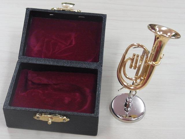 バリトンミニチュア♪ゴールド♪この商品はお取り寄せ商品です♪【吹奏楽の記念品に最適】
