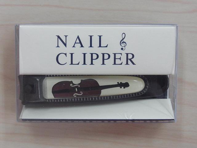 爪切り♪バイオリン♪この商品はお取り寄せ商品です♪【発表会の記念品に最適】