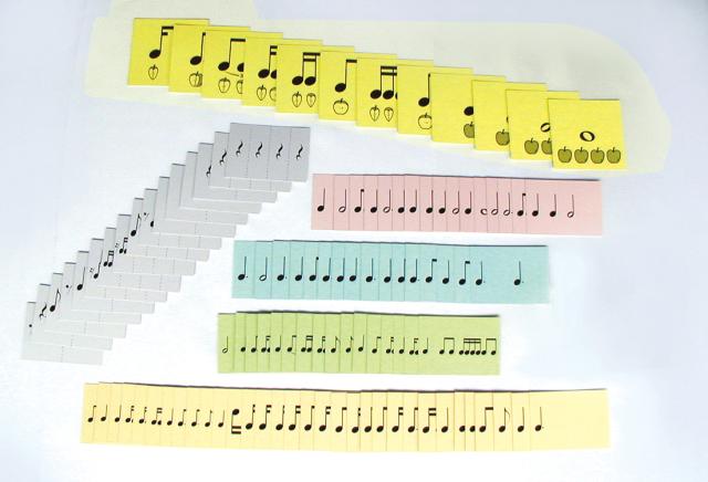 リズムカード ※お取り寄せ商品 引き出物 記念品 音楽雑貨 音符 ピアノモチーフ ト音記号 ピアノ雑貨