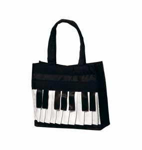 ピアノバッグ S ※お取り寄せ商品 【音楽雑貨 音符・ピアノモチーフ】ト音記号 ピアノ雑貨