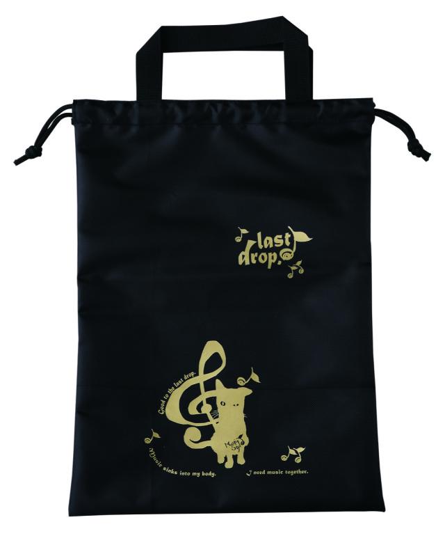 シューズバック ※お取り寄せ商品 引き出物 記念品 音楽雑貨 音符 ピアノモチーフ ト音記号 ピアノ雑貨