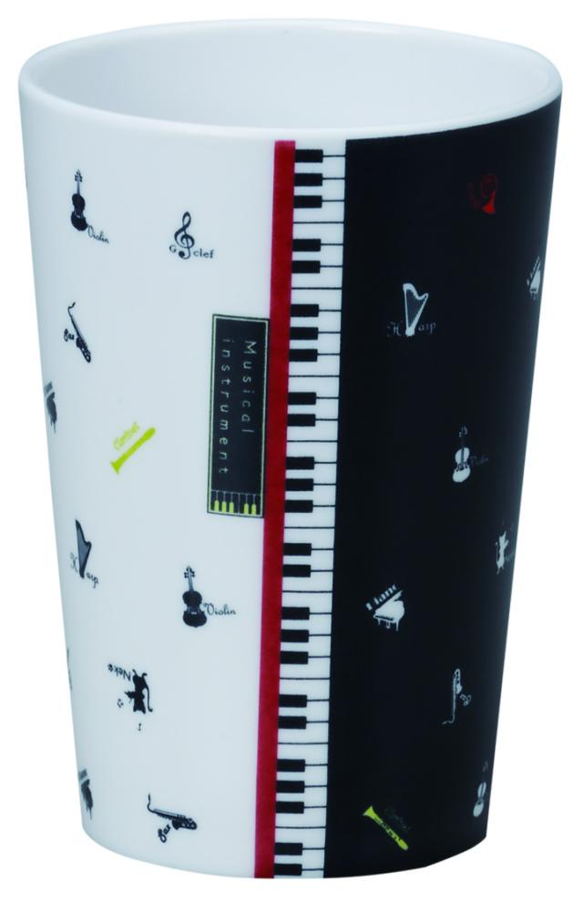 MI フリーカップ ※お取り寄せ商品 引き出物 記念品  【音楽雑貨 音符・ピアノモチーフ】ト音記号 ピアノ雑貨c