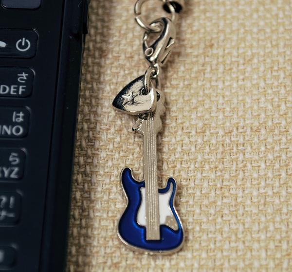 Sギター 携帯ストラップ♪♪【弦楽器・携帯ストラップ-音楽雑貨】