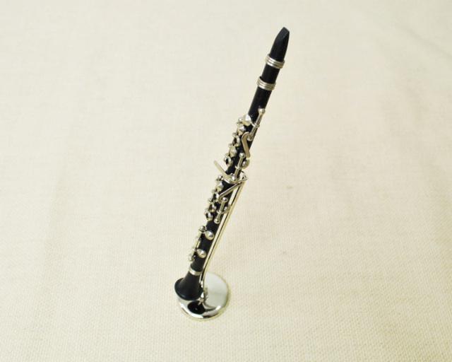 ミニチュア楽器!クラリネット 1/6スケール(黒)♪この商品はお取り寄せ商品です♪♪【楽器-音楽雑貨】