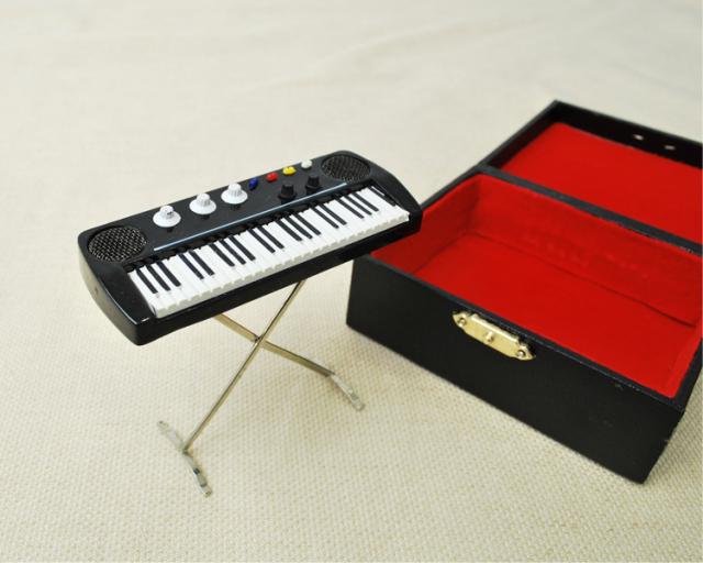 ミニチュア楽器!キーボード♪お取り寄せ商品です♪♪【楽器-音楽雑貨】