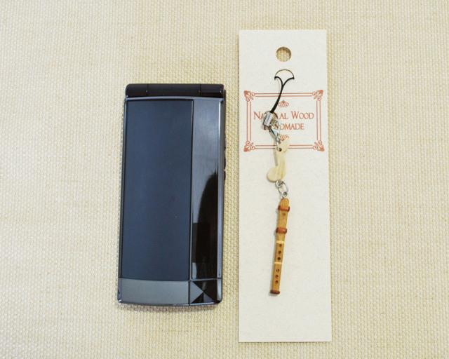 楽器携帯ストラップ フルート♪♪【楽器ストラップ-音楽雑貨】