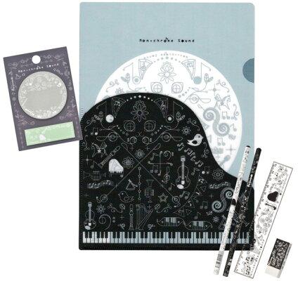 モノクロセット ※お取り寄せ商品 引き出物 記念品 音楽雑貨 音符 ピアノモチーフ ト音記号 ピアノ雑貨