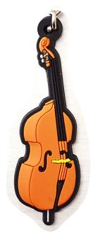 コントラバス ラバーズ キーホルダー 【音楽雑貨専門店】♪この商品はお取り寄せ商品です♪【発表会】ブラスバンド 吹奏楽部