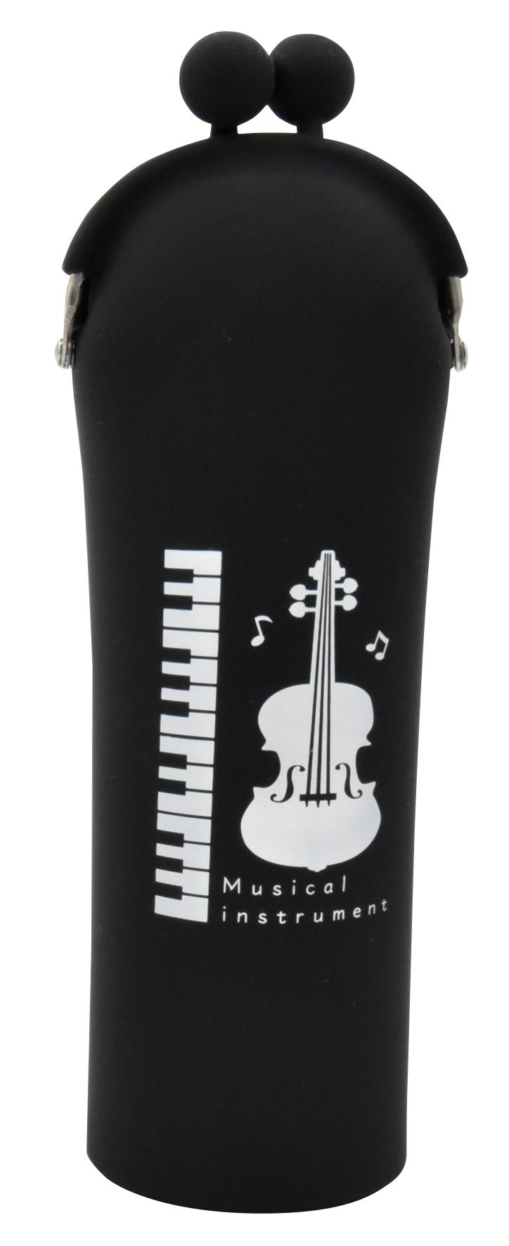 シリコンスタンドケース ※お取り寄せ商品 引き出物 記念品 音楽雑貨 音符 ピアノモチーフ ト音記号 ピアノ雑貨