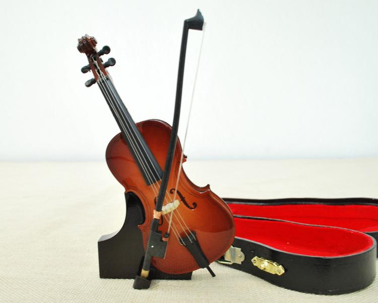 ミニチュア楽器!チェロ 15cmサイズ♪この商品はお取り寄せ商品です♪♪【楽器-音楽雑貨】