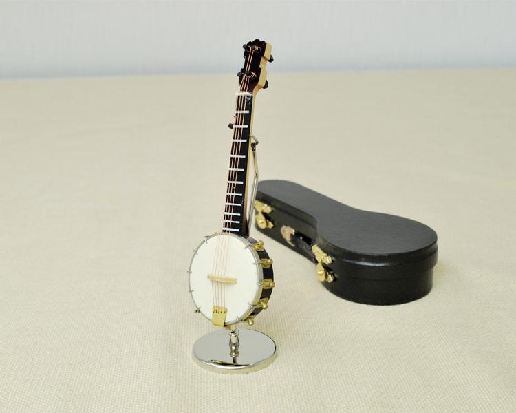 ミニチュア楽器!バンジョー 15cmサイズ♪お取り寄せ商品です♪【楽器-音楽雑貨】
