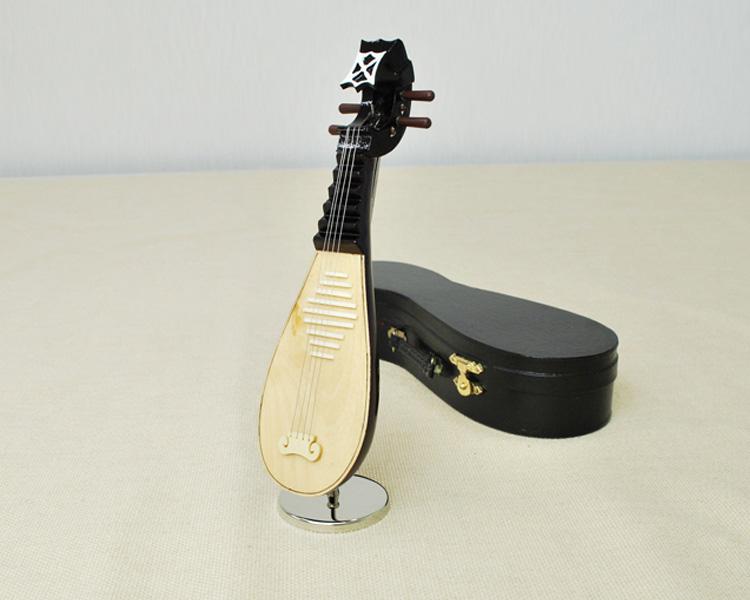 ミニチュア楽器!中国琵琶 20cmサイズ♪お取り寄せ♪【楽器-音楽雑貨】