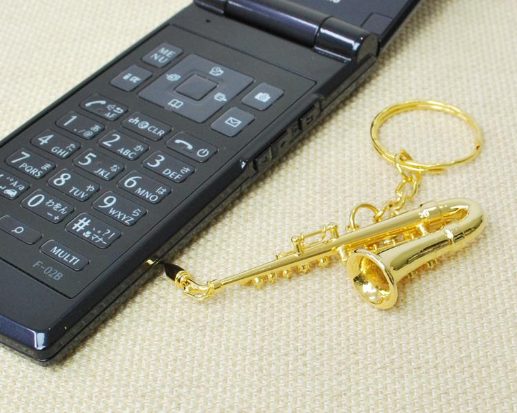 楽器キーホルダー アルトサックス♪この商品はお取り寄せ商品です♪♪【楽器キーホルダー-音楽雑貨】