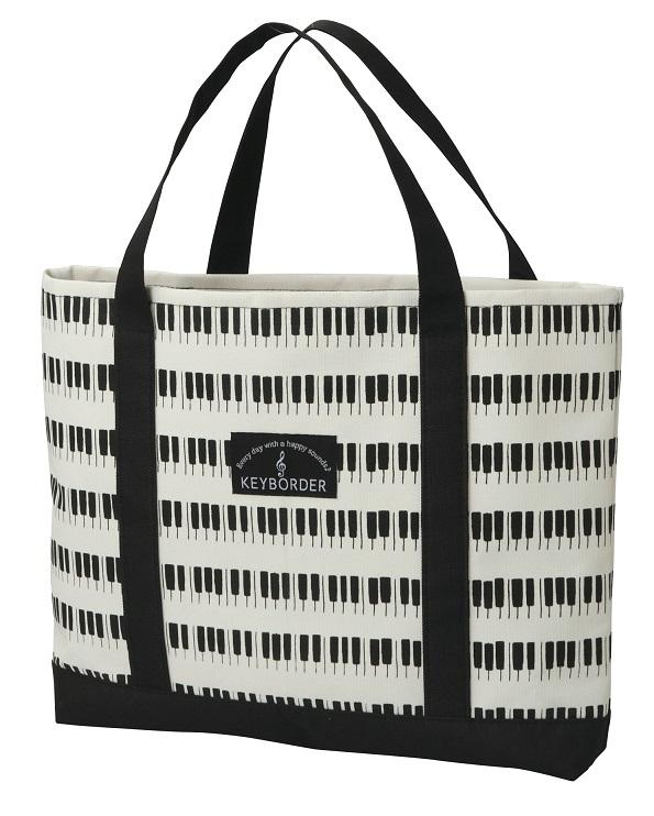 レッスンバッグ ※お取り寄せ商品 【音楽雑貨 音符・ピアノモチーフ】ト音記号 ピアノ雑貨