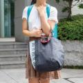 小さくたためるバッグ ※お取り寄せ商品 引き出物 記念品 音楽雑貨 音符 ピアノモチーフ ト音記号 ピアノ雑貨