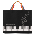 Piano line レッスントートバッグ ※お取り寄せ商品 引き出物 記念品 音楽雑貨 音符 ピアノモチーフ ト音記号 ピアノ雑貨