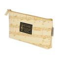 グラーヴェ マチありペンケース(楽譜) ※お取り寄せ商品 引き出物 記念品 音楽雑貨 音符 ピアノモチーフ ト音記号 ピアノ雑貨