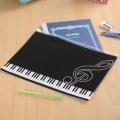 Piano line 連絡帳ケース ※お取り寄せ商品 【音楽雑貨 音符・ピアノモチーフ】ト音記号 ピアノ雑貨