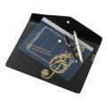グラーヴェ マチ付き楽譜ケース(音符) ※お取り寄せ商品 引き出物 記念品 音楽雑貨 音符 ピアノモチーフ ト音記号 ピアノ雑貨