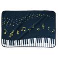 Piano line ブランケット(星空) ※お取り寄せ商品 引き出物 記念品 音楽雑貨 音符 ピアノモチーフ ト音記号 ピアノ雑貨