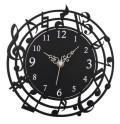 音符時計 ☆※お取り寄せ商品 【音楽雑貨 音符・ピアノモチーフ】ト音記号 ピアノ雑貨