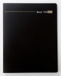 バンドファイル(バインダータイプ) ※お取り寄せ商品 引き出物 記念品 音楽雑貨 音符 ピアノモチーフ ト音記号 ピアノ雑貨