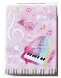 コンパクトミラー ※お取り寄せ商品 引き出物 記念品 音楽雑貨 音符 ピアノモチーフ ト音記号 ピアノ雑貨