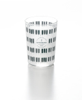 グラスタンブラー KEYBORDER ※お取り寄せ商品 引き出物 記念品 音楽雑貨 音符 ピアノモチーフ ト音記号 ピアノ雑貨