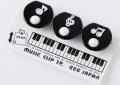 ミュージッククリップ ※お取り寄せ商品 引き出物 記念品 音楽雑貨 音符 ピアノモチーフ ト音記号 ピアノ雑貨