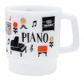ミニマグ la la PIANO ※お取り寄せ商品 引き出物 記念品 音楽雑貨 音符 ピアノモチーフ ト音記号 ピアノ雑貨