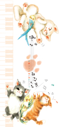 NOISY PARAKEET 一筆箋 ※お取り寄せ商品 引き出物 記念品 音楽雑貨 音符 ピアノモチーフ ト音記号 ピアノ雑貨