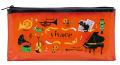 クリアペンポーチ vivace ※お取り寄せ商品 引き出物 記念品 音楽雑貨 音符 ピアノモチーフ ト音記号 ピアノ雑貨
