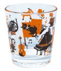 タンブラー vivace ※お取り寄せ商品 引き出物 記念品 音楽雑貨 音符 ピアノモチーフ ト音記号 ピアノ雑貨