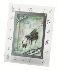 3Dフォトフレーム♪この商品はお取り寄せ商品です♪【ピアノ発表会】音楽会 ブラスバンド 吹奏楽部の記念品に