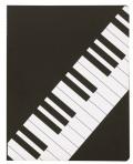 ミュージッククリアホルダー 鍵盤♪この商品はお取り寄せ商品です♪【ピアノ発表会】音楽会 ブラスバンド 吹奏楽部の記念品に