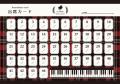 出席カード CLASSIC ※お取り寄せ商品 引き出物 記念品 音楽雑貨 音符 ピアノモチーフ ト音記号 ピアノ雑貨