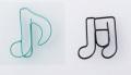 G/M ゼムクリップ ※お取り寄せ商品 【音楽雑貨 音符・ピアノモチーフ】ト音記号 ピアノ雑貨